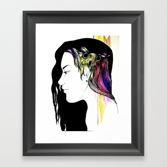 Owlong Framed Art Print