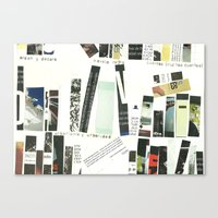 library Canvas Prints featuring library by Willy Ollero