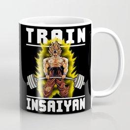 TRAIN INSAIYAN (Goku Deadlift) Coffee Mug