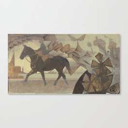 Suppertime Canvas Print
