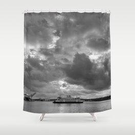 Elliott Bay Ferry Shower Curtain