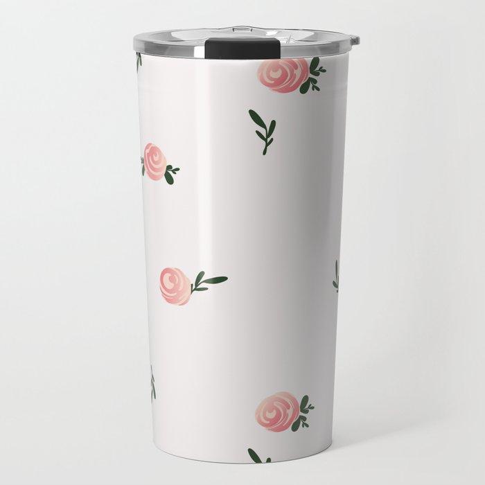 Petite Rose Travel Mug