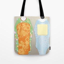 Geisha Maiko Spring Tote Bag