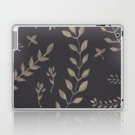 Light Sepia Leaves Pattern #1 #drawing #decor #art #society6 Laptop & iPad Skin