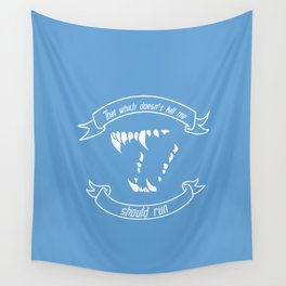 What Doesn't Kill Me Wall Tapestry