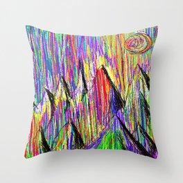 Colour Falls - Matt Texture 6 Throw Pillow