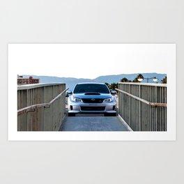 2012 STI Art Print