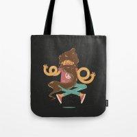 zen Tote Bags featuring Zen by carvalhostuff
