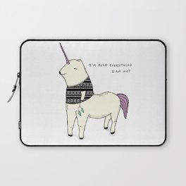 I am also everything I am not Laptop Sleeve