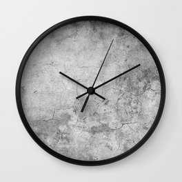 Concrete Cement Wall Clock