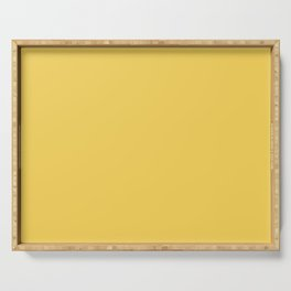 Sunshine Yellow - Solid Color Collection Serving Tray