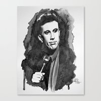 seinfeld Canvas Prints featuring Jerry Seinfeld by Vic Yambao Art