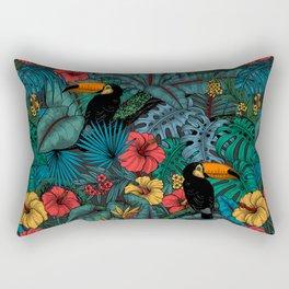 Toucan garden Rectangular Pillow