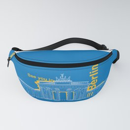 See you in Berlin Fanny Pack