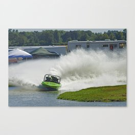 Feel The Power Canvas Print