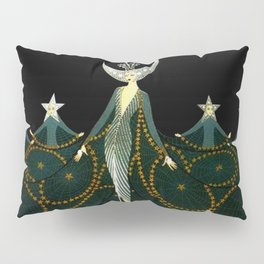 "Art Deco Design ""Queen of the Night"" Pillow Sham"