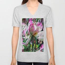 Lotus Delight Unisex V-Neck