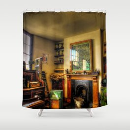 Builder`s merchants Shower Curtain