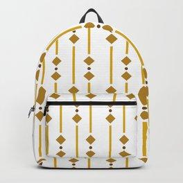geometric design bown rhombuses Backpack