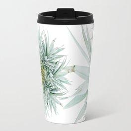 Abstract Pineapple Travel Mug