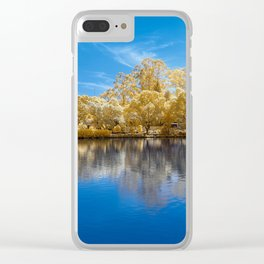 Panorama Lake View Clear iPhone Case