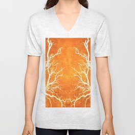Branches of Fire Touch Unisex V-Neck