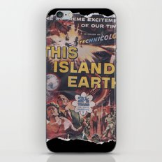 This Island Earth: Pulped Fiction Edition iPhone & iPod Skin