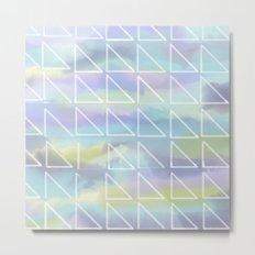 Cool Triangles Metal Print