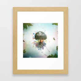 Colorful life Framed Art Print