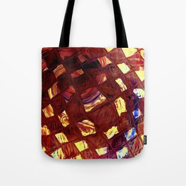 Yellow Square Tote Bag