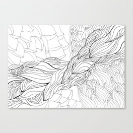 Current Flow Canvas Print