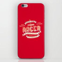 Enduro Racer iPhone Skin