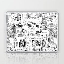 Da Vinci's Sketchbook Laptop & iPad Skin