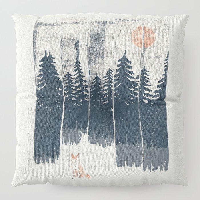 A Fox in the Wild... Floor Pillow