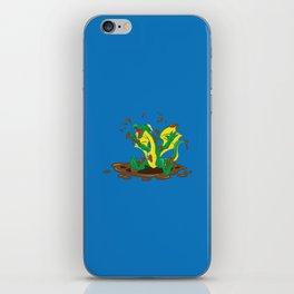 Mud Puddle Are for Playing In! iPhone Skin