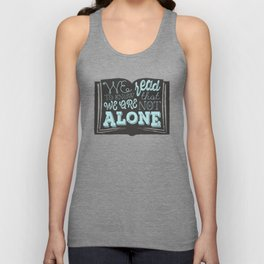 We are not alone Unisex Tank Top