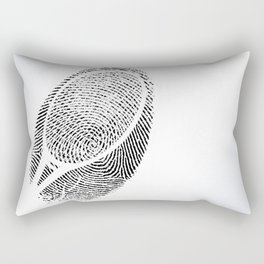 Fingerprint of a player Rectangular Pillow