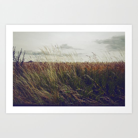 Autumn Field I Art Print