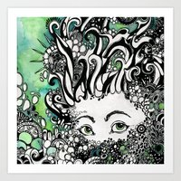 Shallow Sea Art Print