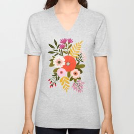 Country Bunch No. 2 Unisex V-Neck