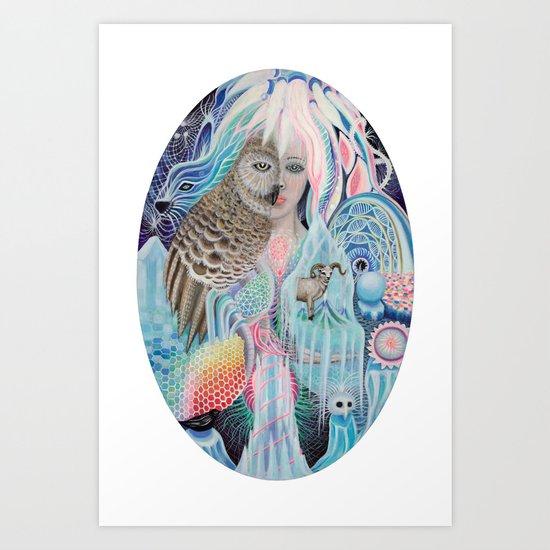 blind spot Art Print
