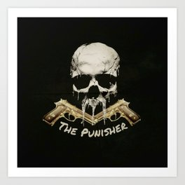 The Punisher (Realistic) Art Print