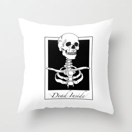 Dead instant picture Throw Pillow