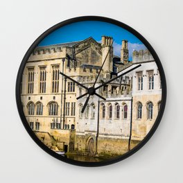 York City Guildhall in the spring sunshine. Wall Clock