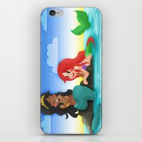 ouat iPhone & iPod Skins featuring OUAT - Mermaids by Choco-Minto