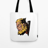 xmen Tote Bags featuring x22 by jason st paul