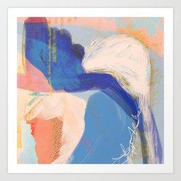Sanibel - Shapes and Layers no. 34 - Abstract Art Print