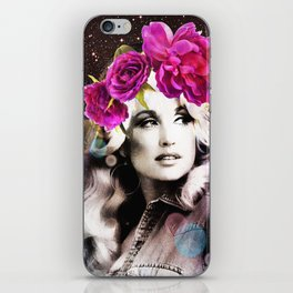 Holy Dolly (dolly parton) iPhone Skin