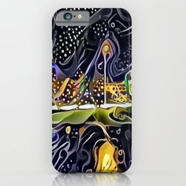 Kansas City Plaza in the Rain - Country Club Plaza iPhone Case