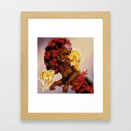 Kiss The Girl Framed Art Print